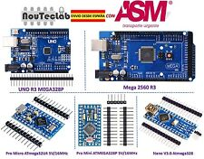 MCU Controller Kit for Arduino with MEGA 2560 UNO R3 Nano V3 Pro Micro Pro Mini