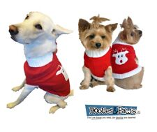 Doggie Design Red Rudolph Holiday Christmas Dog Pet Holiday Sweater