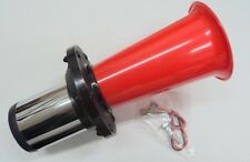 New Red Oogah Horn Klaxon Vintage Style Old Car Truck Style Loud Street Rod