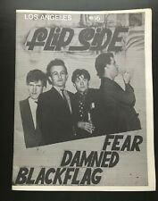 LOS ANGELES FLIPSIDE FANZINE ISSUE #16 MAGAZINE FEAR DAMNED BLACK FLAG  1979