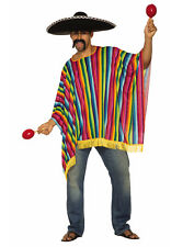 Serape Mens Adult Spanish Mexican Halloween Costume Accessory-Std