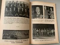 RARE:The Amateur Official 1950 SOFTBALL Guide Rules Men & Women Orange CA CHAMPS