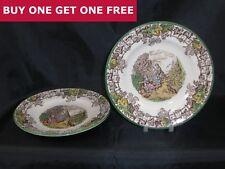 "Vintage Copeland Spode Spode's Byron 6.5"" Tea Plate Made In England BOGOF S1065"