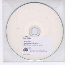 (GJ671) Jason Sparks, Bad Samba - DJ CD