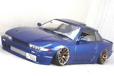 PANDORA 1/10 RC NISSAN SILVIA S13 194mm Clear Body Drift Hashiriya
