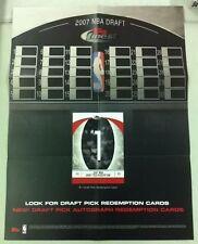 2007-08 Topps Finest Basketball Promotional Poster (Greg Oden/Kevin Durant+)