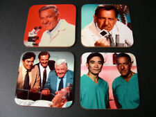 Quincy M.E. Jack Klugman COASTER Set
