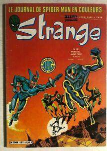 STRANGE #151 French color Marvel comic (1982) Iron Man Spider-Man DD ROM VG+