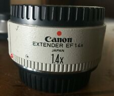 Canon Extender EF 1.4x II Lens Extender Excellent Condition Made in Japan