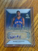 2007-08 Panini SP Rookie Threads Signing Day #SDWC Wilson Chandler Autograph 🔥