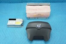 Volvo XC90 Front Driver & Passenger Airbag with Module 3pc Set 2003 2004 OEM