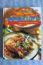 Römertopf Nr. 2, Neue Rezepte und Idee, Dr. Oetker, 2000