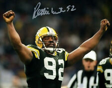 REGGIE WHITE SIGNED POSTER PHOTO 8X10 RP AUTOGRAPHED HOF GREEN BAY PACKERS