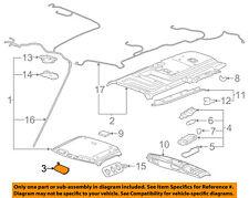 GM OEM Sunvisor-Sun Visor Left 84054692