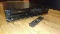 Sony Betamax Video Tape Recorder - SL-F205 (100v <ONLY> (*240v) NTSC) + remote