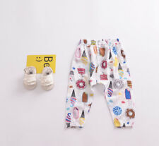 UK Baby Boys Girls Summer Trousers Toddler Legging Mosquito-proof Bottoms Pants