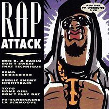 Rap Attack (1992) Eric B. & Rakim, EPMD, Public Enemy, signor Lee, a Tri [CD DOPPIO]