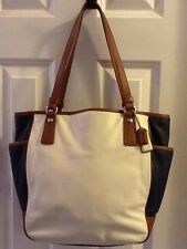 Coach Park Color Block  Leather Tote - F23683