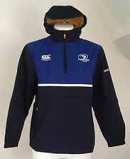 LEINSTER RUGBY PEACOAT BLUE SHOWER JACKET BY CANTERBURY SIZE BOYS 8 YEARS NEW