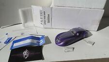 Franklin Mint 1939 Duesenberg Coupe Simone  Purple Diescast Car *Mint in Box*