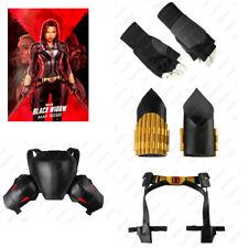 2020 Black Widow Strap Belt Accessories Natasha Romanoff Costume Gloves Props