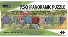 FAVORITE FLANNEL - LANG ART - 750 PIECE PANORAMIC PUZZLE - BRAND NEW - 5041018