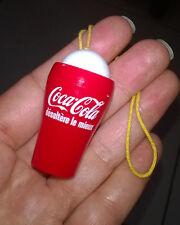 Ancien petit bilboquet miniature publicitaire Coca-Cola (jeu - jouet)