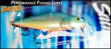 RARE SALMO PERCH SR Shallow Runner Floating 12 cm, 36 g, PB (Pearl Blue) color