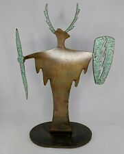 SHAMAN METAL ART SCULPTURE 16.5