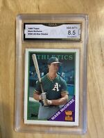 1988 Topps Mark McGwire All Star Rookie Graded 8.5 NM-MT+