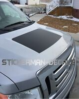 FORD F150 BLACKOUT VINYL HOOD DECAL 2009-2014