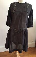 Isabel Marant Robe Tunique En Coton Et Broderies Taille 2