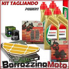 KIT TAGLIANDO OLIO + PASTIGLIE FRENO POSTERIORI KAWASAKI 600 ZX6-R Ninja 2001