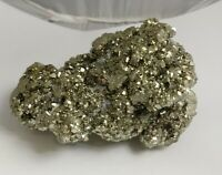 Gorgeous pyrite crystal cluster specimen, Peru 2.5lbs!!!  AAA fools gold!!