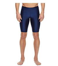 Speedo Men Jammer PowerFlex Eco Swim Shorts Navy Size 36 3899