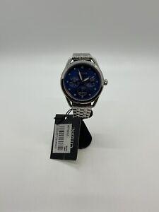 Citizen Eco-Drive Chronograph Stainless Steel Watch w/ Diamonds
