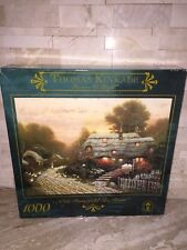 CEACO 1000 PC JIGSAW PUZZLE OLDE PORTERFIELD TEA ROOM THOMAS KINKADE