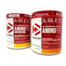 Dymatize AMINO PRO 30 SRV Energy BCAAS EAA Pre Workout ON Amino Energy EX 9/2020