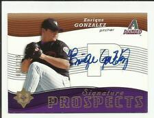 Enrique Gonzalez 2005 Ultimate Signature Autograph Rookie #129 #003/125   RC