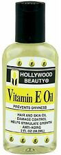 Hollywood Beauty Vitamin E Oil Hair - Skin Treatment, 2 oz