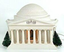 New ListingDept 56 Jefferson Memorial Light Up Building Display Piece American Pride