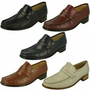 Mens Thomas Blunt Moccasin Formal Shoes 'Clapham 2'