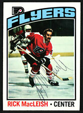 Rick MacLeish Authentic Autographed Signed 1976-77 Topps Card #121 Flyers 150184