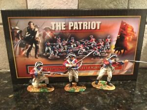 """Toy Soldiers 3 METAL Conte AWI Redcoats """"Patriot"""" Series"""