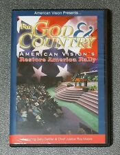 God & Country American Vision's Restore America Rally DVDs Part 1 & 2