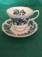 ROYAL ALBERT BONE CHINA ENGLAND CUP & SAUCER