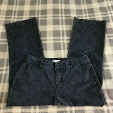 Women's COLDWATER CREEK Straight Denim Trouser / Jeans Career SIZE 12P Inseam 28