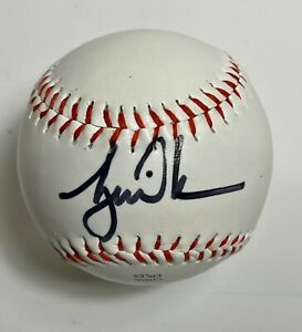 Tiger Woods Autographed Signed MLB Baseball w/coa Different Type of item