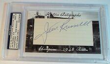 Jim Russell 2012 Historic Autographs Champions #4/6 HA auto 1948 Boston Braves