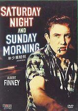 Staurday Night and Sunday Morning All Region DVD Albert Finney, Shirley Anne New